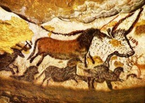 A scene from Lascaux, the 'Sistine Chapel of Prehistory'