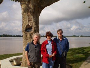 The tree at Blaye that keeps its eye on you!