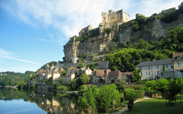 Beynac in the Dordogne, France