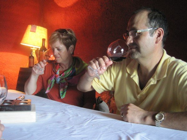 Wine tasting with winemaker