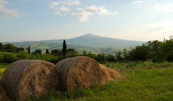 Mount Amiata in the Val d'Orcia, Tuscany