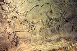 One of the Rouffignac Mammoths