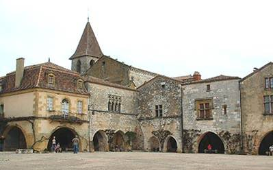 Monpazier - this remarkable bastide is possibly the best known of all.