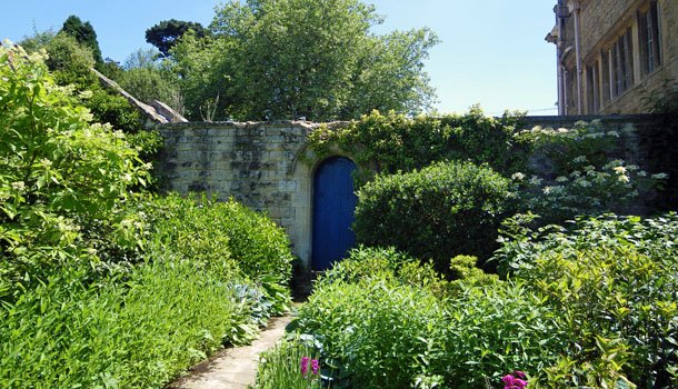 Kiftsgate - garden gate