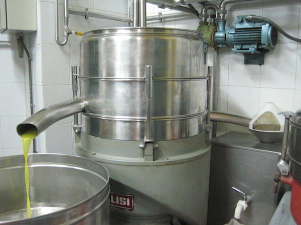 olive oil centrifuge