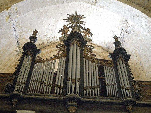 18th century organ - Bonnieux vieille eglise