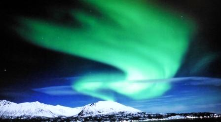 The elusive Aurora Borealis (Northern Lights)