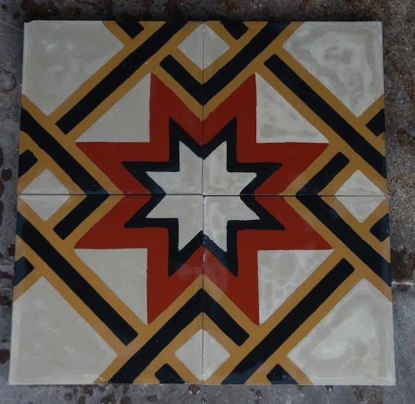 Tessieri cement tile