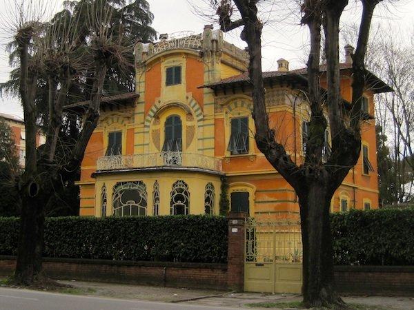 Stile Liberty villa