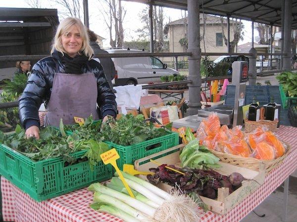 Farmers market Foro Boario