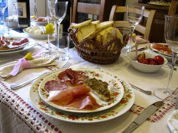 antipasti for Easter