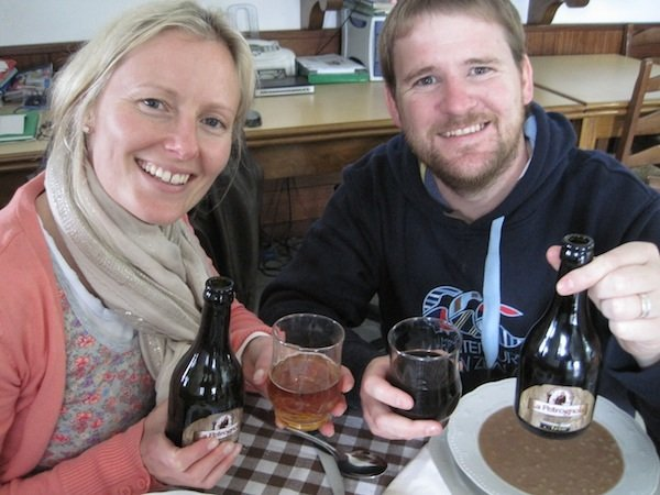 Petrognola farro beer