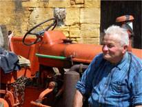 Gilbert (Maurice) Penmendrant - the last farmer prehistorian (Picture Courtesy of Sophie Cattoire)