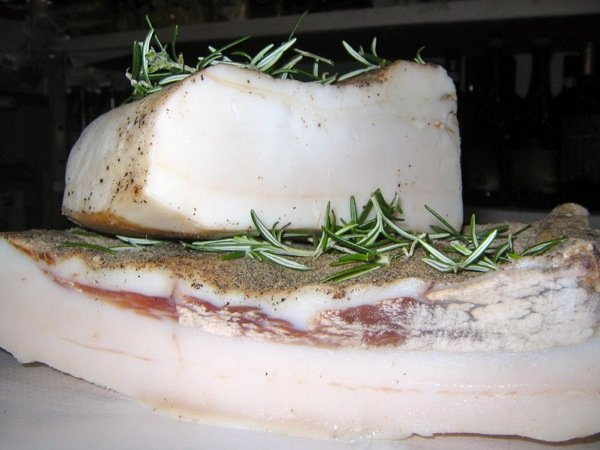 Lardo, the perfect nourishment for a quarryman
