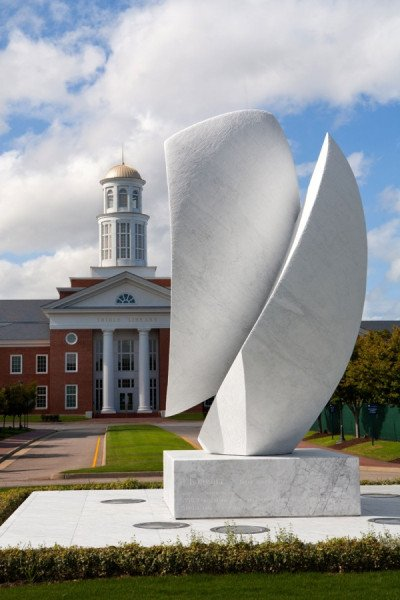 'Elements' at Christopher Newport University, Virginia (photo: Alexander Kravets, Newport News, Virginia)