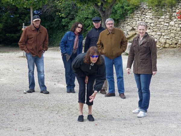 Learning to play boules