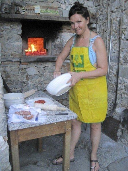 Francesca is an expert pizzaiola