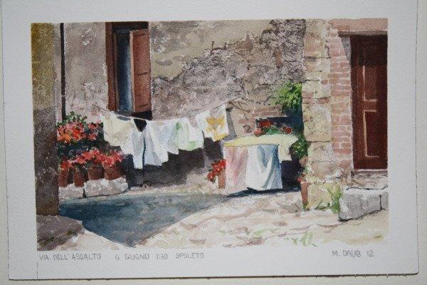 Laundry in Spoleto