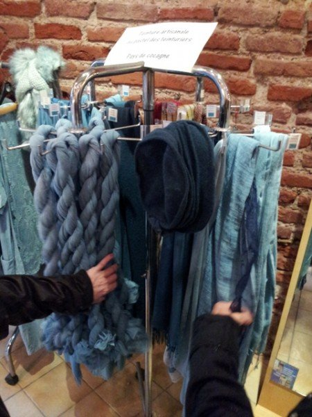 03231305 woad hand dyed by guy we saw