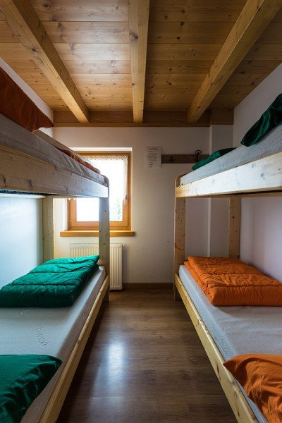 Comfortable bunkrooms.
