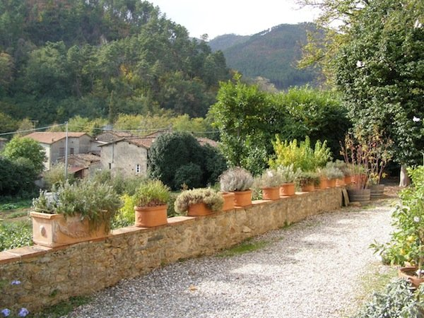 The agriturismo is a beautiful place to stay.