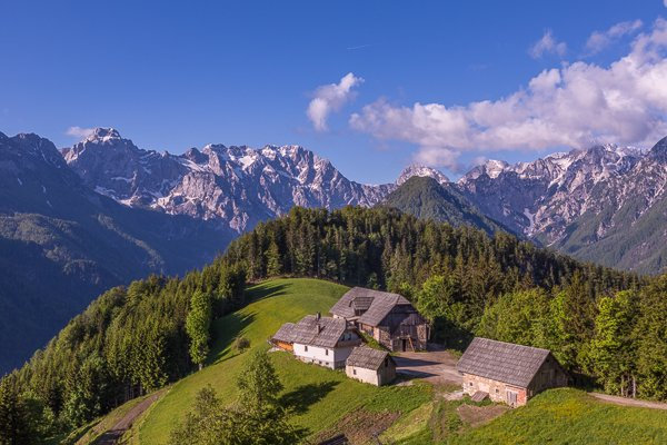 High mountain farm, Logarska Dolina, Slovenia