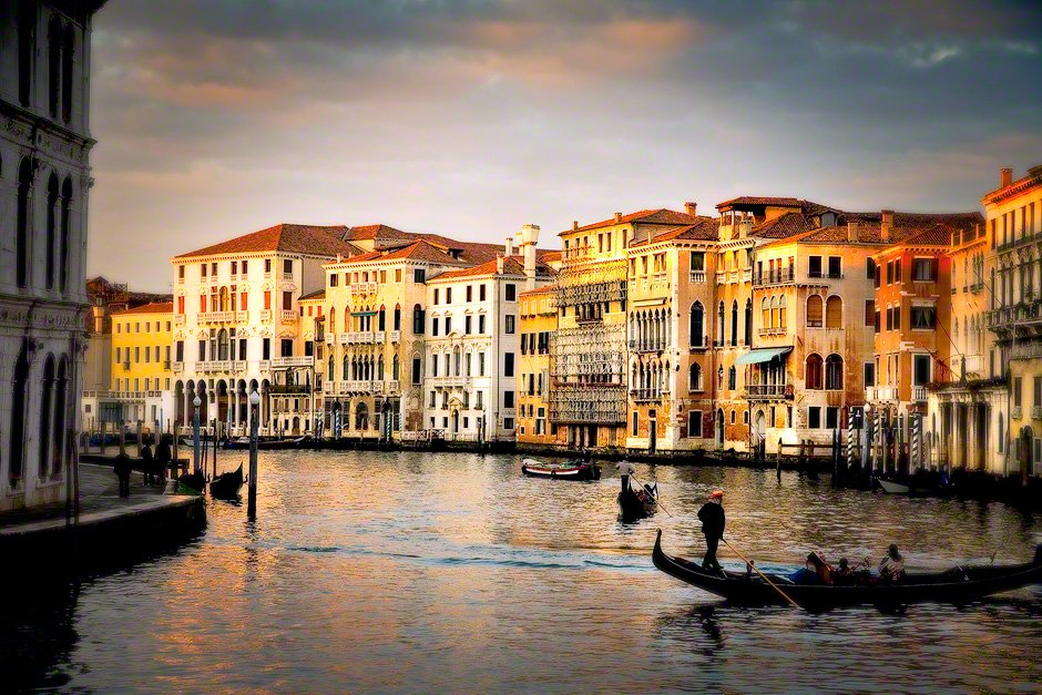 Grand Canal at Sunset.