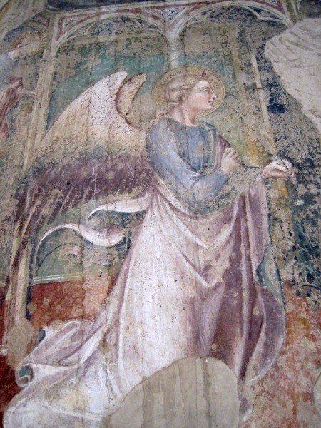 Angel at Arezzo