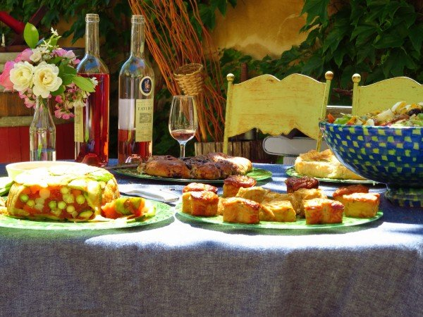 Lunch at Domaine Faverot by Patti from Tennessee