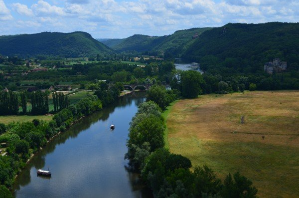 Marguerite's photo of the Dordogne River