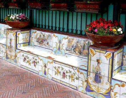 07060903 Ceramic Benches