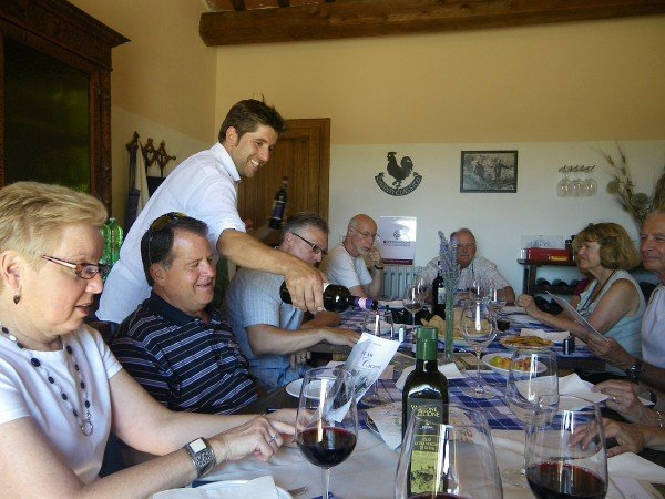 Lunch at Vallone di Cecione (June 2011)