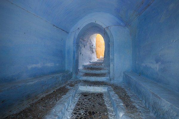 Passageway. Pyrgos, Greece.