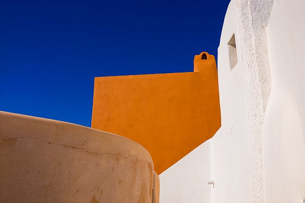 Color Study. Oia, Greece.