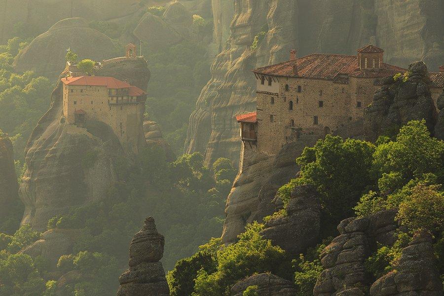 Rousanou Monastery & St. Nicholas Anapausas Monastery, Meteora