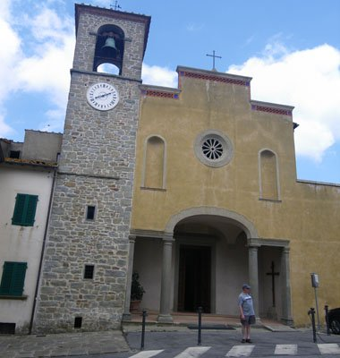 San Donato church in Lamole
