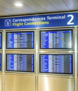 Departure board - CDG airport