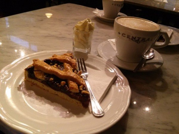 12281504 coffee and plum tart