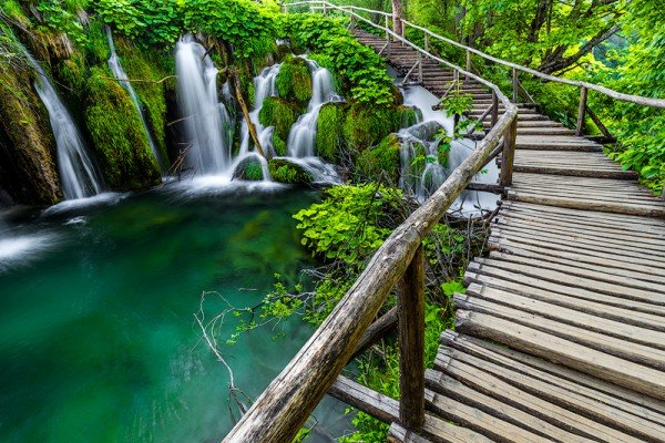 Plitvice Lakes National Park, Croatiai