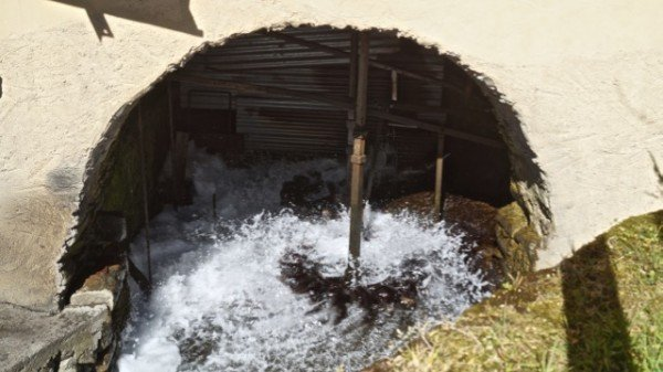 Water wheel at Mulino di Piezza