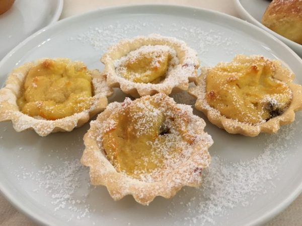 Valeria's homemade tartlets