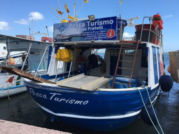 One-day course learning to be a Sardinian fisherman could come in handy.