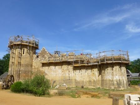 Guedelon, Medieval, Castle
