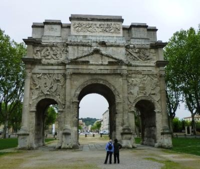 Roman, Triumphal Arch, Orange