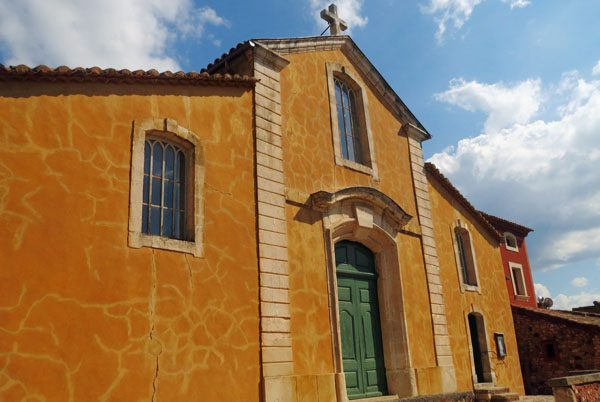 Roussillon church