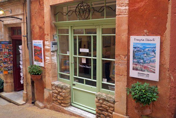 Francoise Valenti gallery - Roussillon