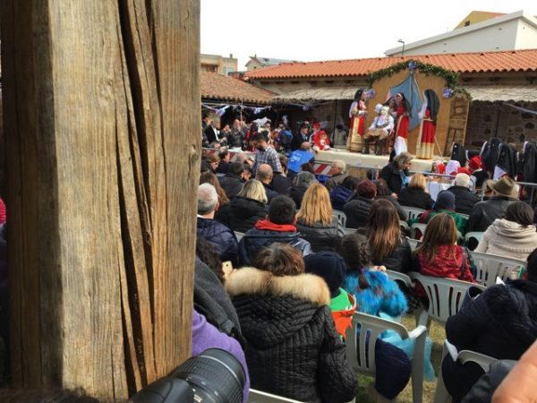 Public dressing at Sartiglia