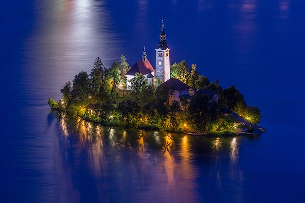 Church of Mary the Queen, Lake Bled, Slovenia