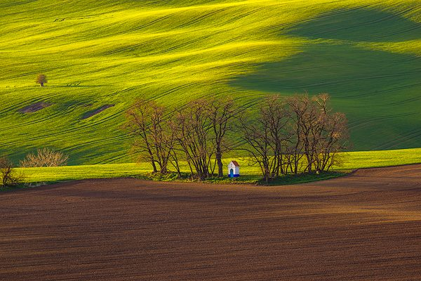 Small Chapel, Southern Moravia, Czech Republic