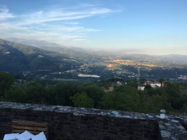 View of Barga from Cascio